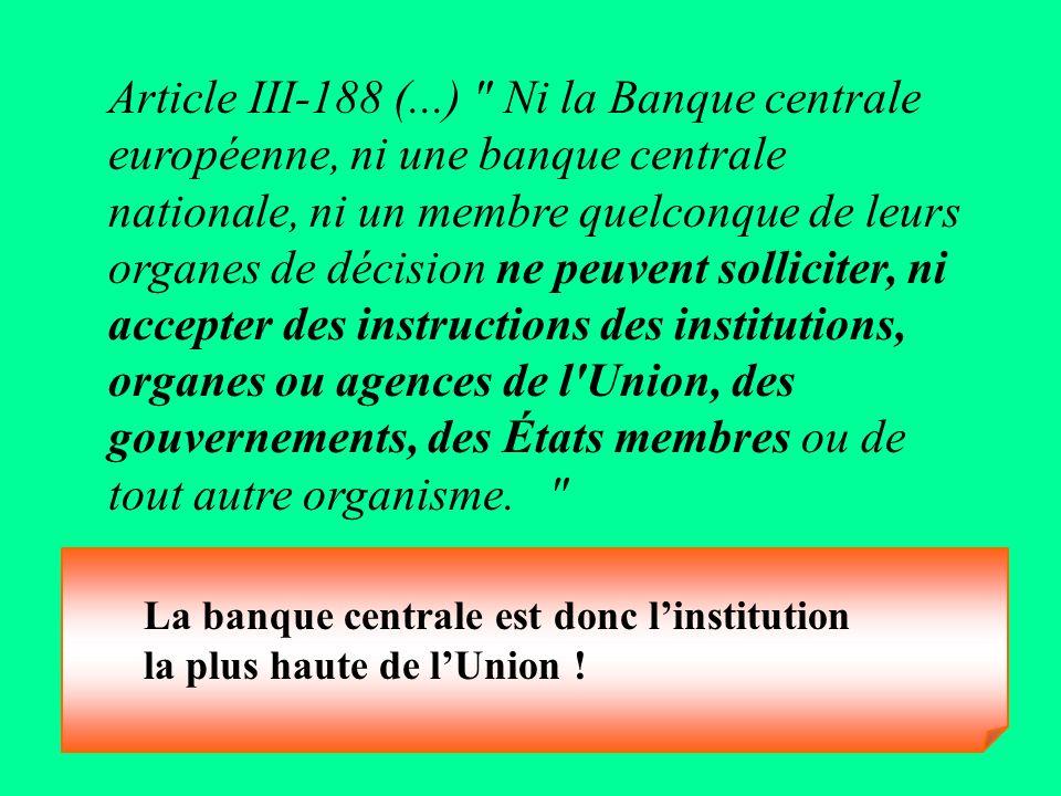 Article III-188 (...)