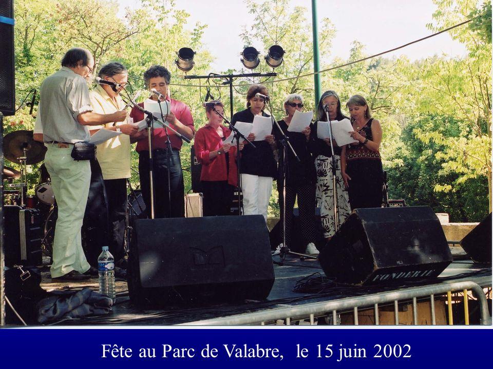 Fête au Parc de Valabre, le 15 juin 2002