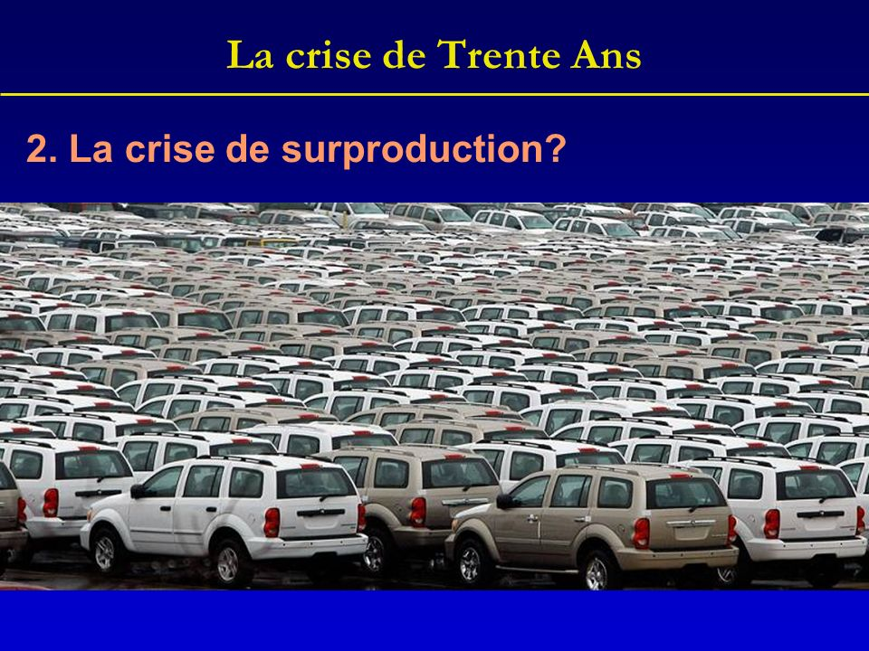 La crise de Trente Ans 2. La crise de surproduction
