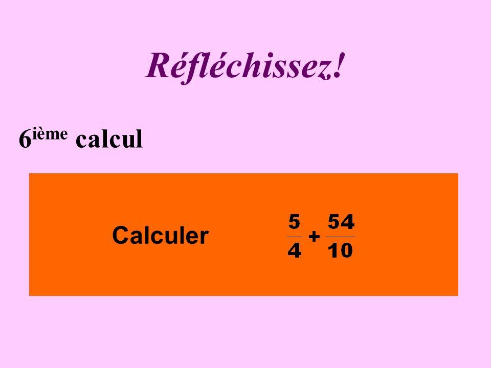 Écrivez ! 5 ième calcul Calculer 0,12 x 0,3