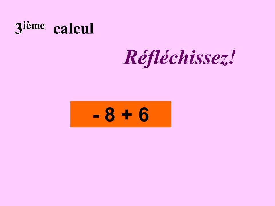 Écrivez ! 2 ième 2 ième calcul - 6 x (- 3)