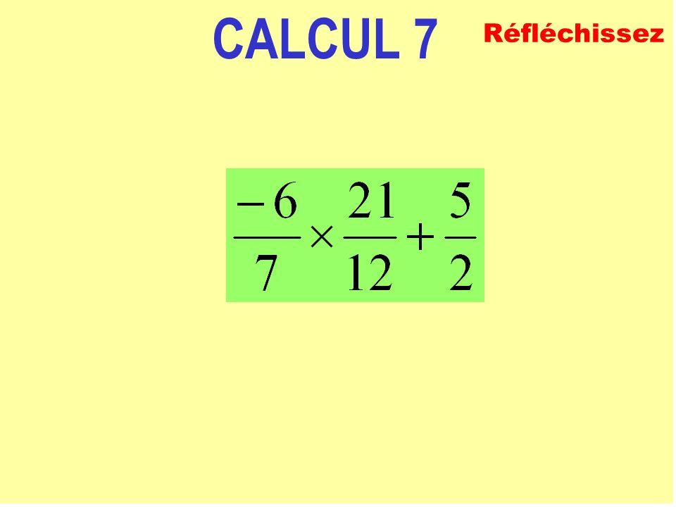 CALCUL 6 ECRIVEZ