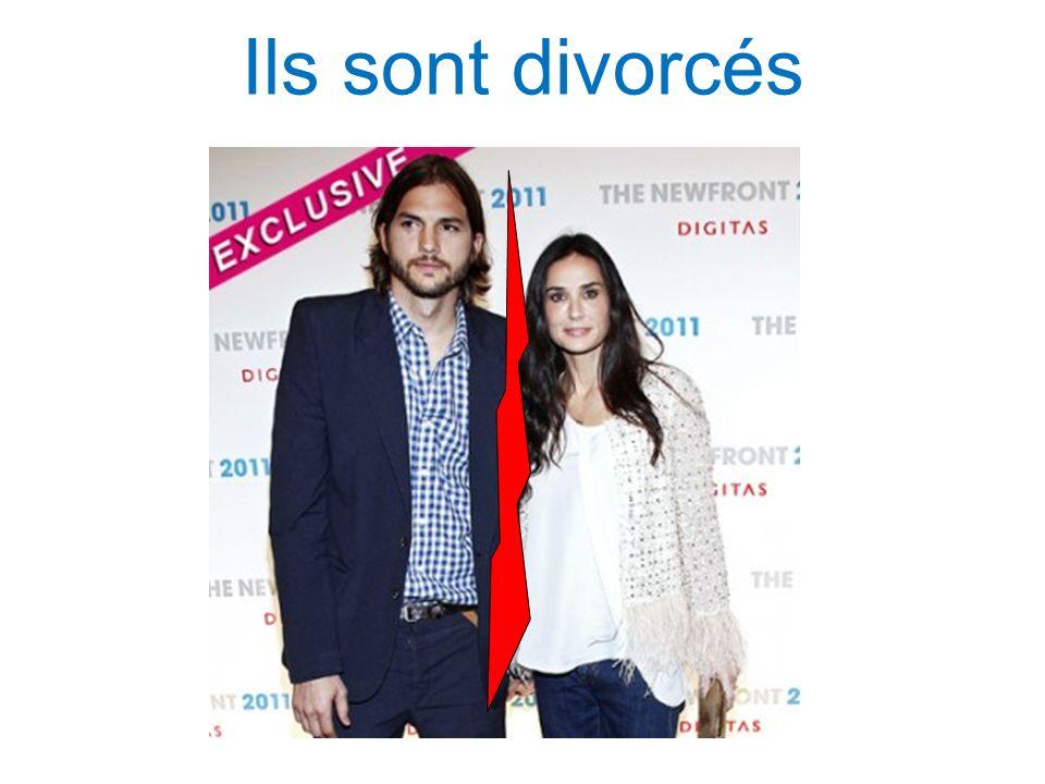Ils sont divorcés