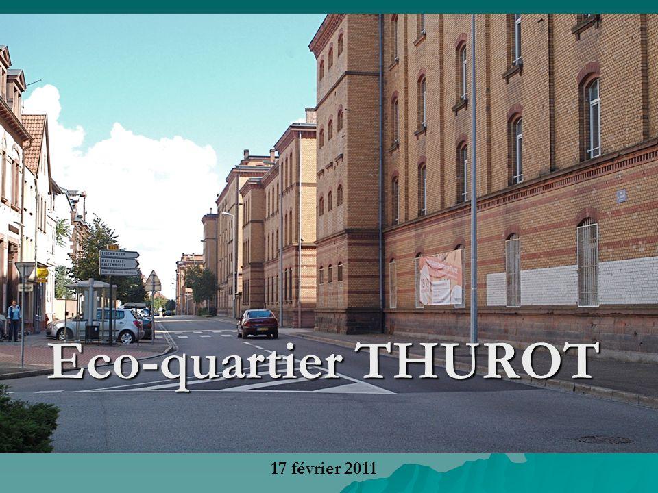 Eco-quartier THUROT 17 février 2011