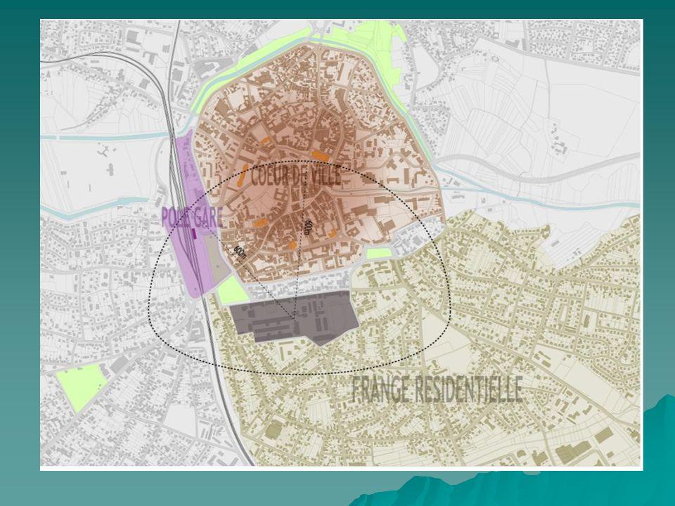 La réhabilitation De 20 à 25 000 m² de réhabilitation sur la rue de la Redoute + Mess des officiers.