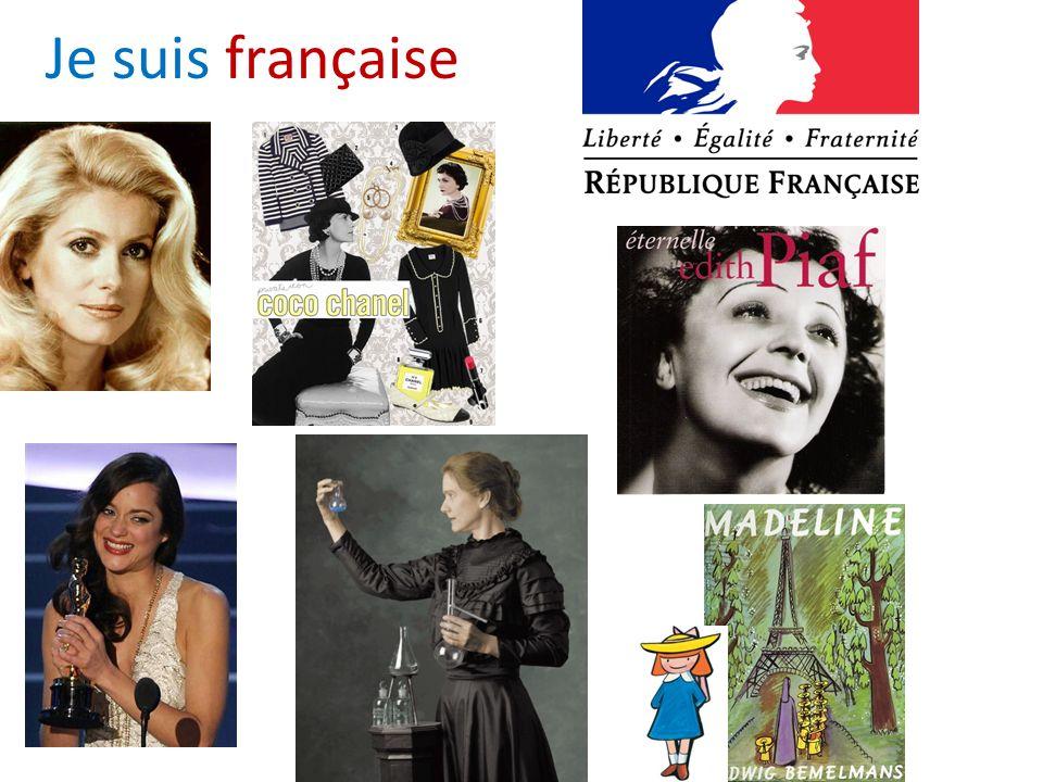 Je suis française