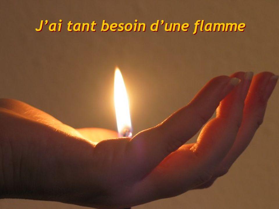 Pour y chercher le feu de ton Amour