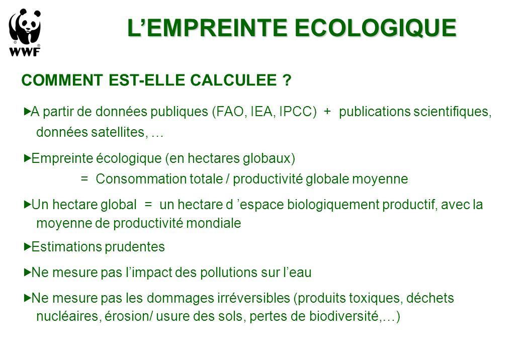 COMMENT EST-ELLE CALCULEE .