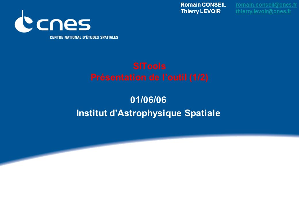 Présentation SITools – IAS, juin 2006 2 Objectif Constat dans les laboratoires : Petits volumes de données Systèmes daccès spécifiques et hétérogènes, ou données inaccessibles Services associés non partagés Maintenance .
