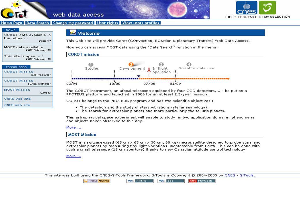 Présentation SITools – IAS, juin 2006 26