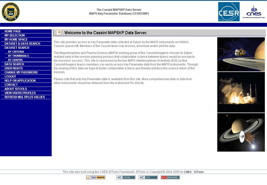 Présentation SITools – IAS, juin 2006 27