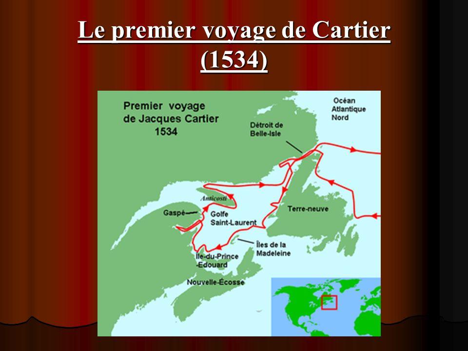 Le premier voyage de Cartier (1534)