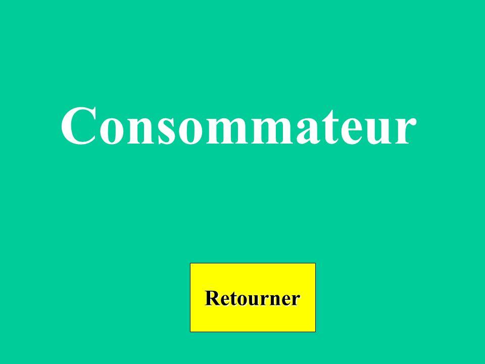 Consommateur Retourner