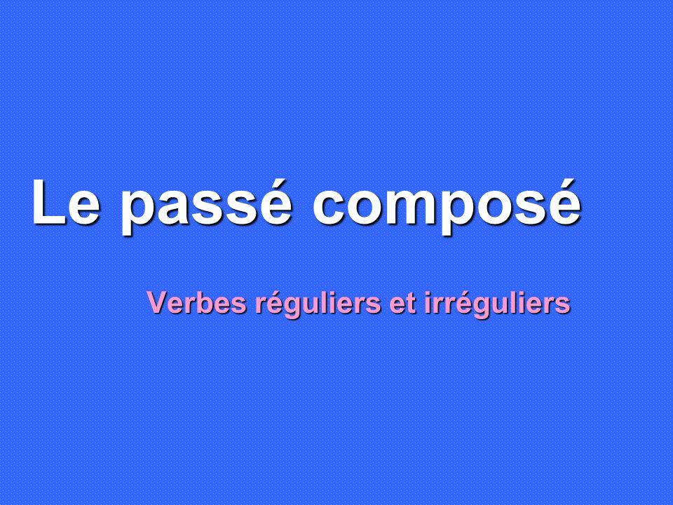 Radicaux irréguliers Avoir = aur- Être = ser- Aller = ir- Faire = fer- Pouvoir = pourr- Vouloir = voudr- Voir = verr- Savoir = saur- Devoir = devr- Venir = viendr-