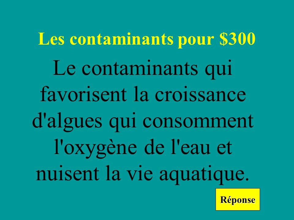 Qu est-ce que c est les contaminants biologiques? Retourner
