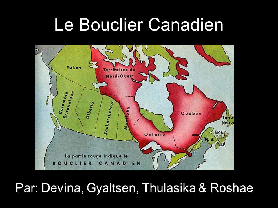 Le Bouclier Canadien Par: Devina, Gyaltsen, Thulasika & Roshae