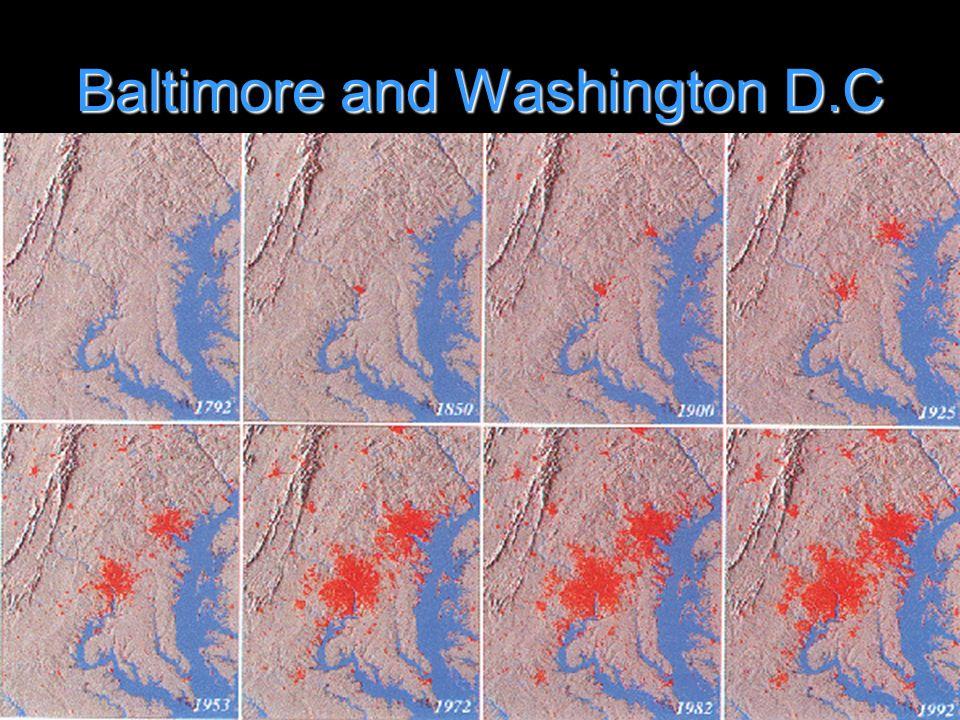 Baltimore and Washington D.C