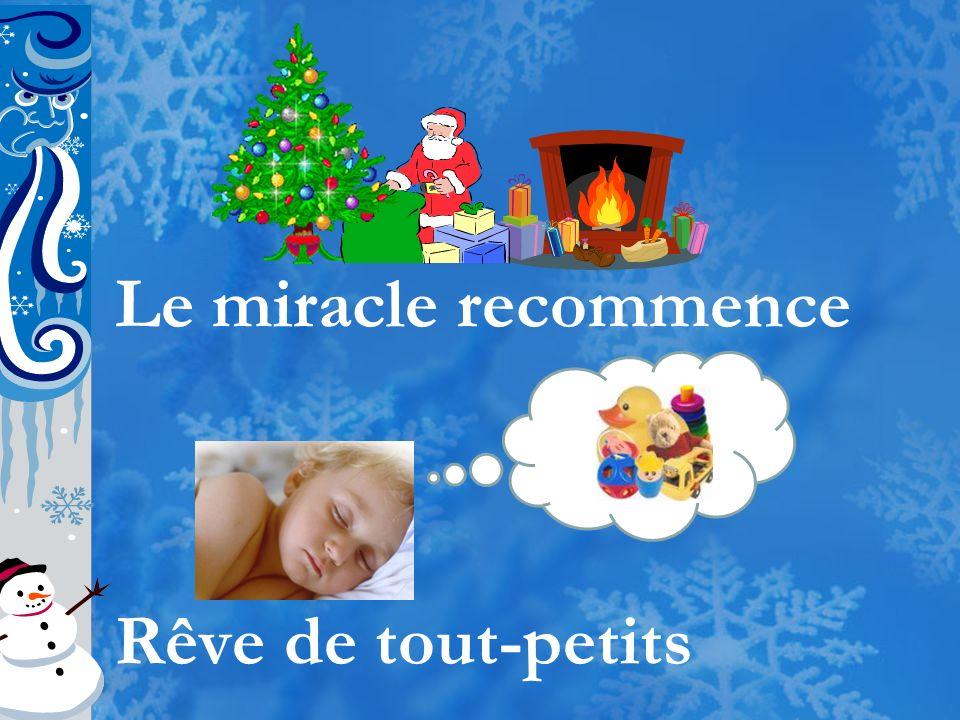 Le miracle recommence Rêve de tout-petits