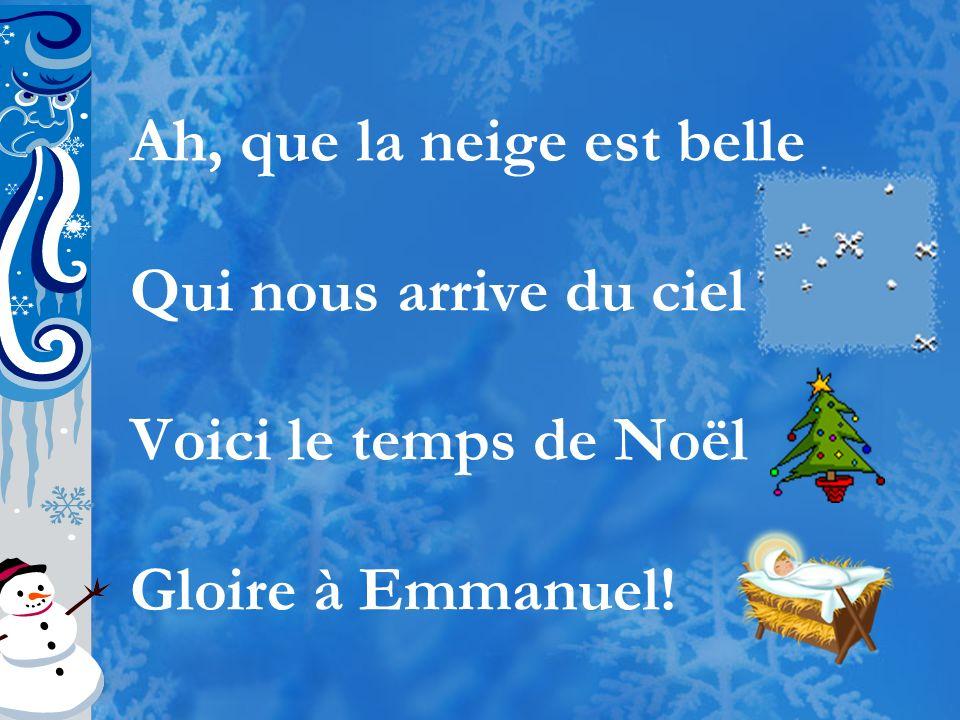 Boules de neige Et jour de lan Et bonne année Grand-mère!