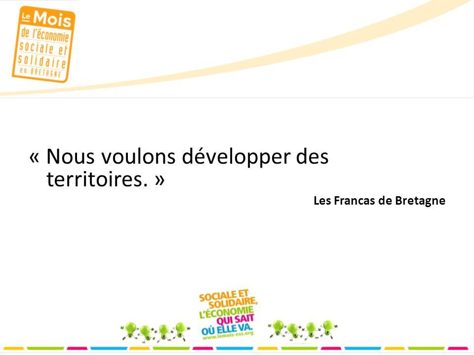 « Nous voulons développer des territoires. » Les Francas de Bretagne