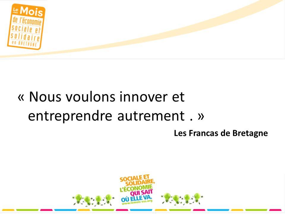 « Nous voulons innover et entreprendre autrement. » Les Francas de Bretagne