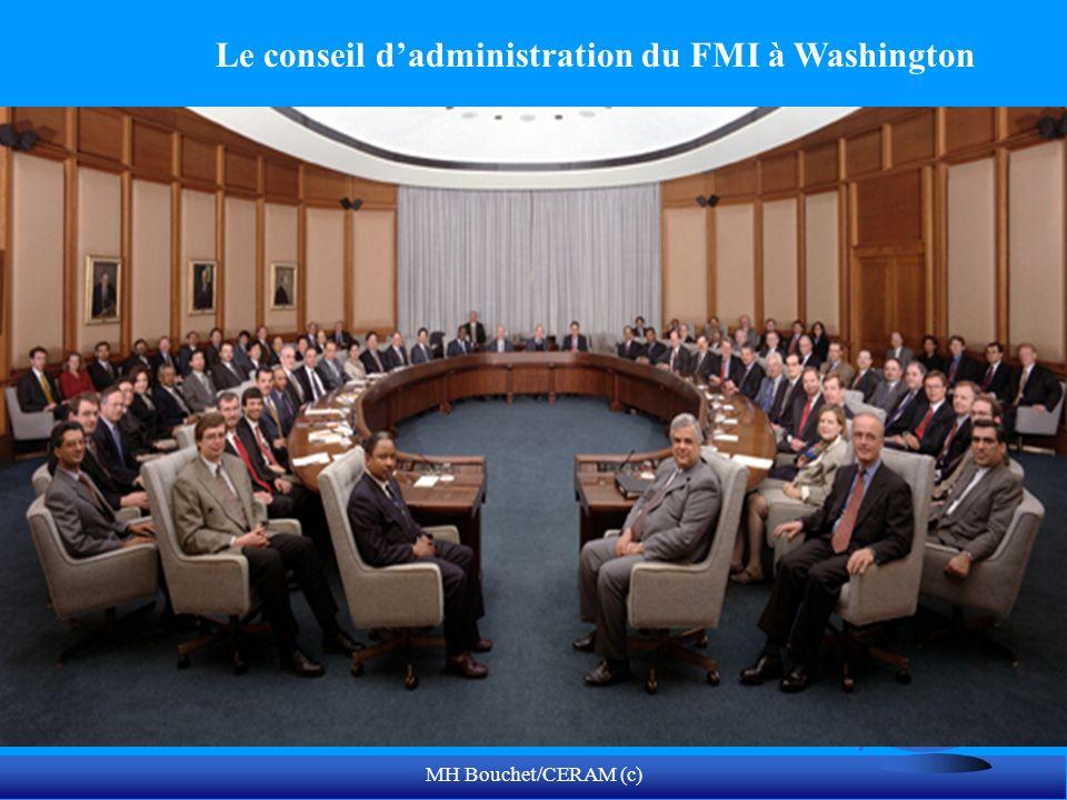 MH Bouchet/CERAM (c) Le conseil dadministration du FMI à Washington