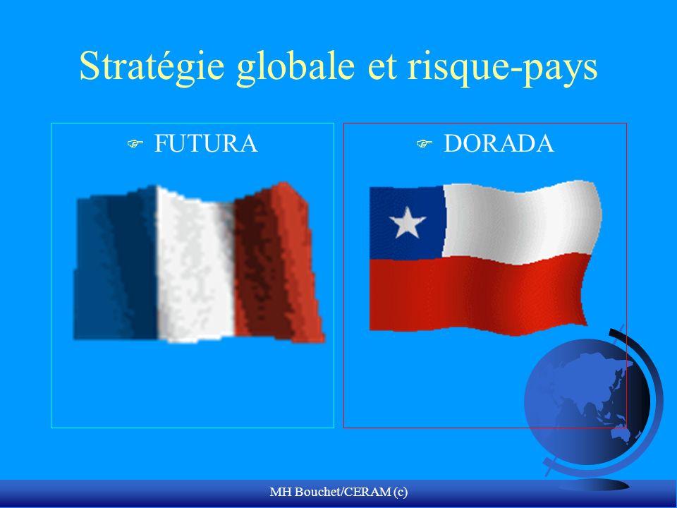 MH Bouchet/CERAM (c) Stratégie globale et risque-pays F FUTURA F DORADA