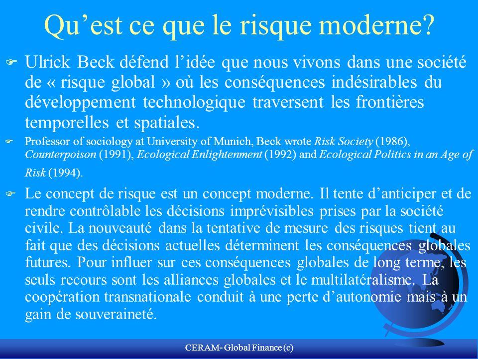 CERAM- Global Finance (c) Benoît Mandelbrot Né en Pologne en 1924, il émigre en France en 1936.