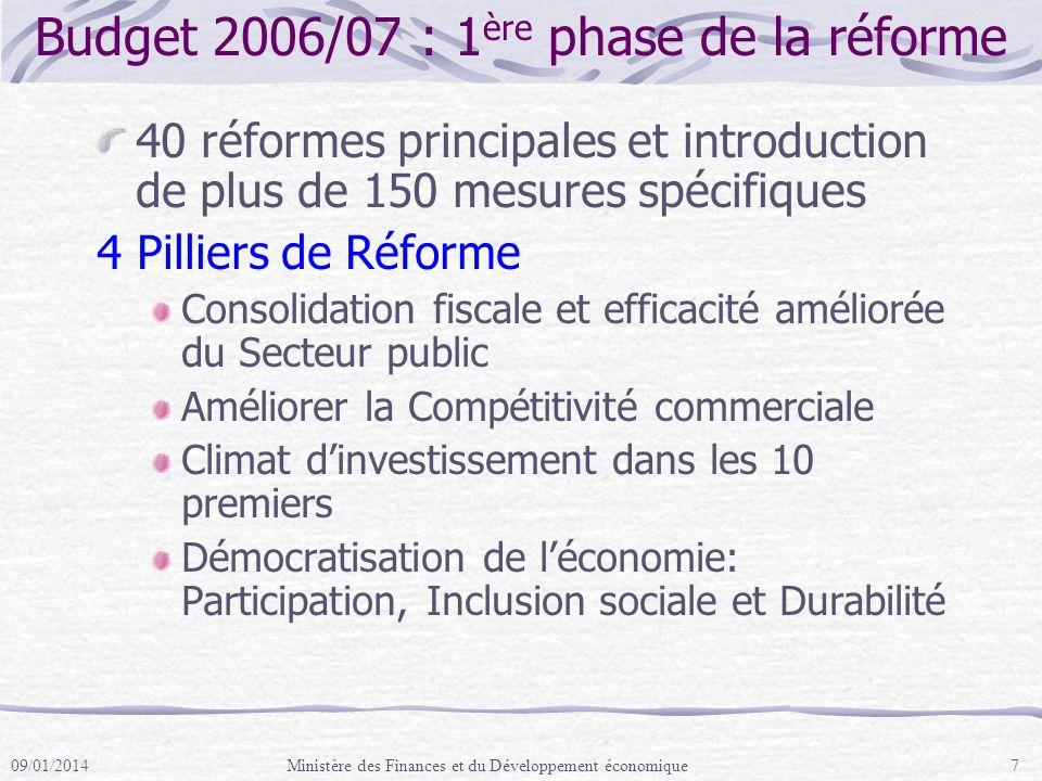 Renforcement des capacités pour la Gestion des dépenses publiques Afin de mettre en oeuvre le Programme de Réforme du Gouvernement, il est important de renforcer les capacités de manière durable.