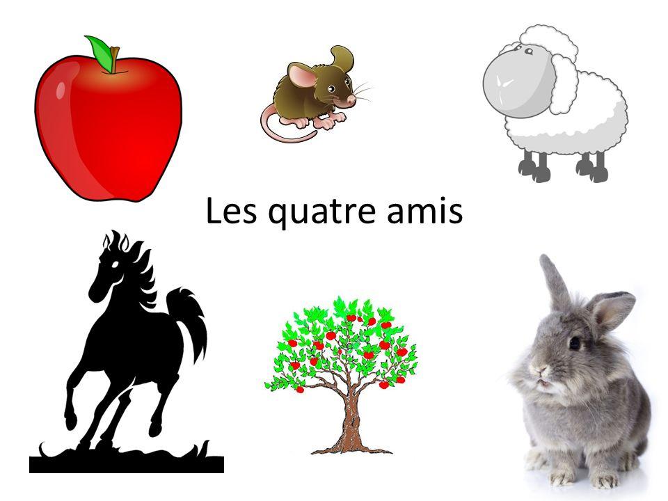 ˂˂ Vite, vite ˃˃ dit le petit mouton blanc, ˂˂ monte sur ma tête.