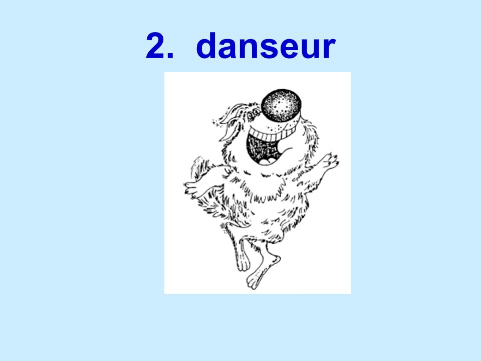 2. danseur