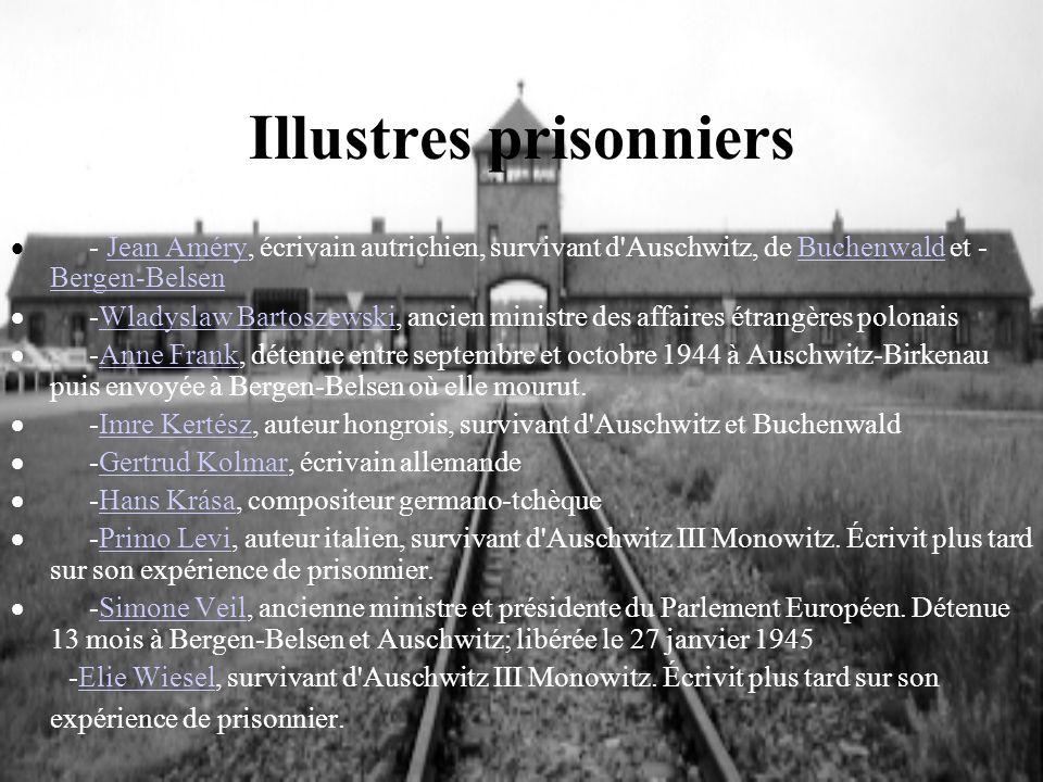 Illustres prisonniers - Jean Améry, écrivain autrichien, survivant d'Auschwitz, de Buchenwald et - Bergen-BelsenJean AméryBuchenwald Bergen-Belsen -Wl
