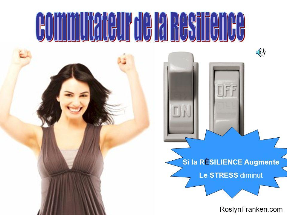 Si la RÉSILIENCE Augmente Le STRESS diminut RoslynFranken.com