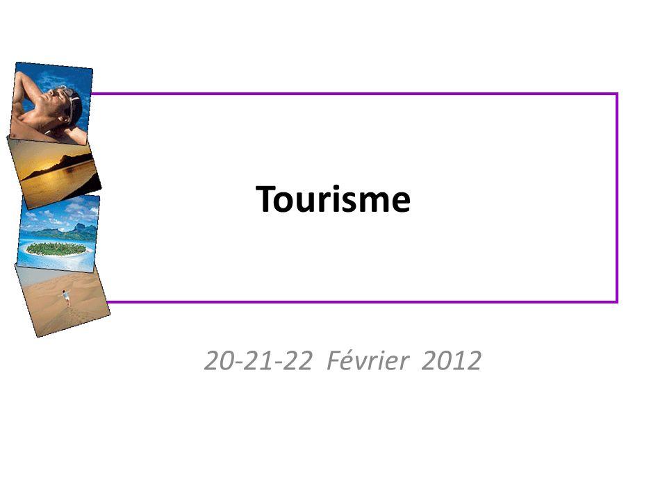 Tourisme 20-21-22 Février 2012
