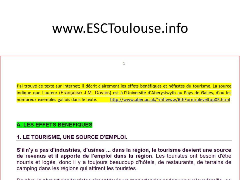 www.ESCToulouse.info