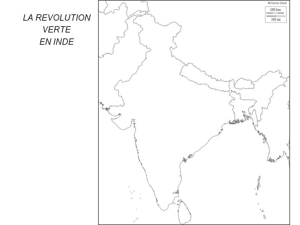 LA REVOLUTION VERTE EN INDE
