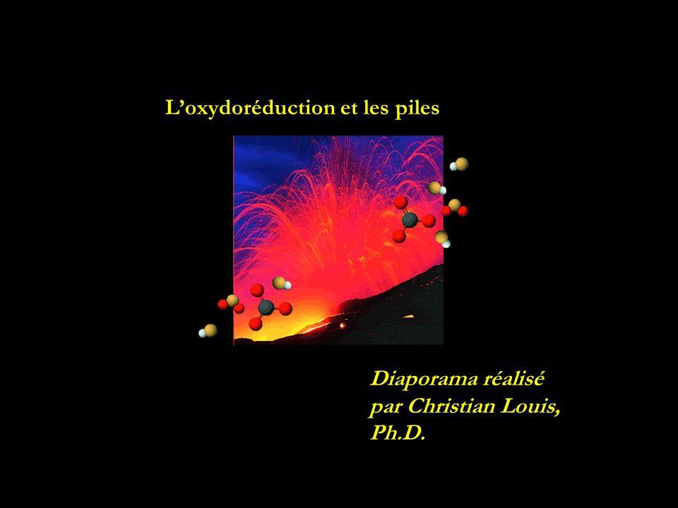 Loxydoréduction et les piles Diaporama réalisé par Christian Louis, Ph.D.