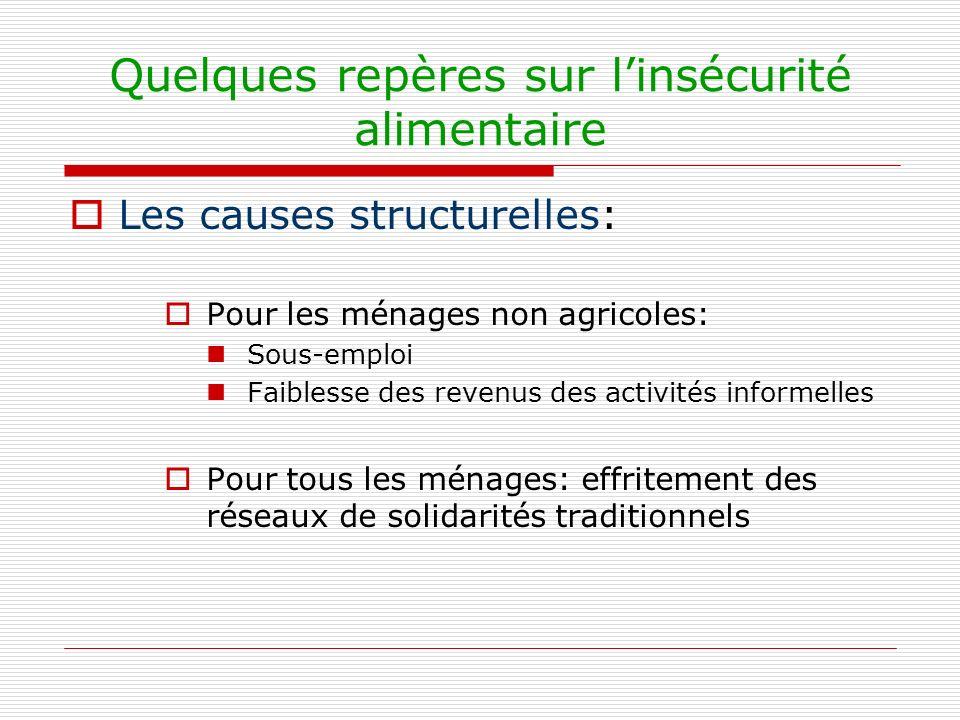 Quelques propositions Élaborer ensemble une charte de la souveraineté alimentaire Préciser ensemble le concept pour lAfrique de lOuest Faire converger les pratiques des acteurs Impliquer dans sa conception les États, les OP, les OIG, les donateurs, les ONG Sappuyer sur lexpérience du Cilss et du Club du Sahel