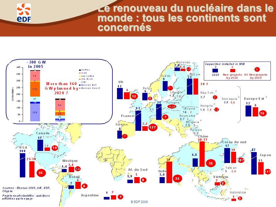 Le renouveau du nucléaire dans le monde : une filière industrielle