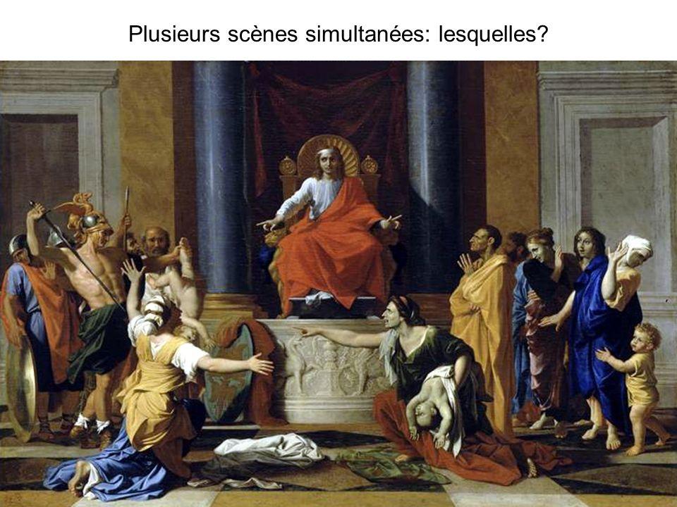 Plusieurs scènes simultanées: lesquelles?