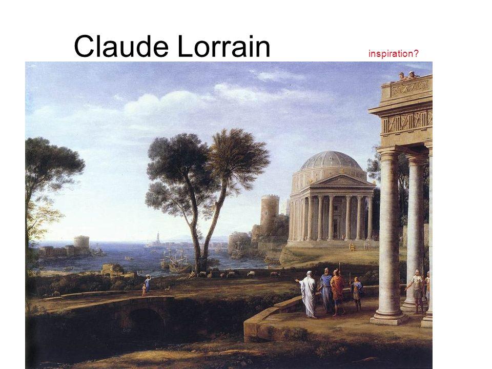 Claude Lorrain inspiration?