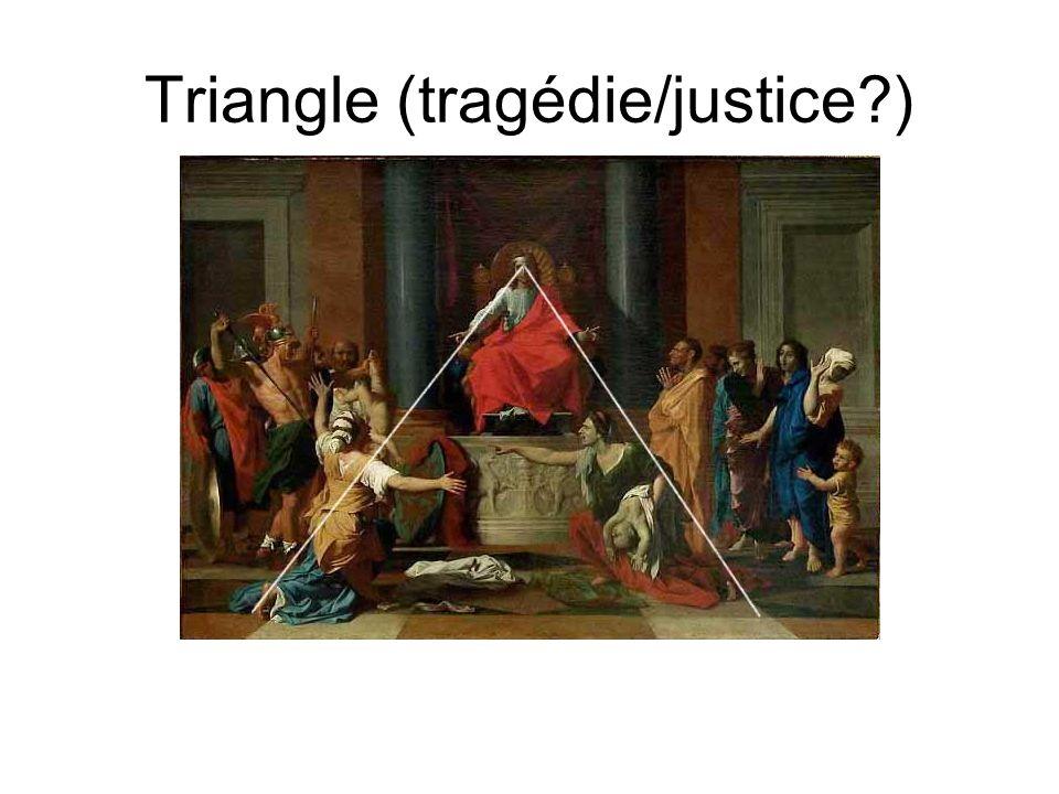 Triangle (tragédie/justice?)