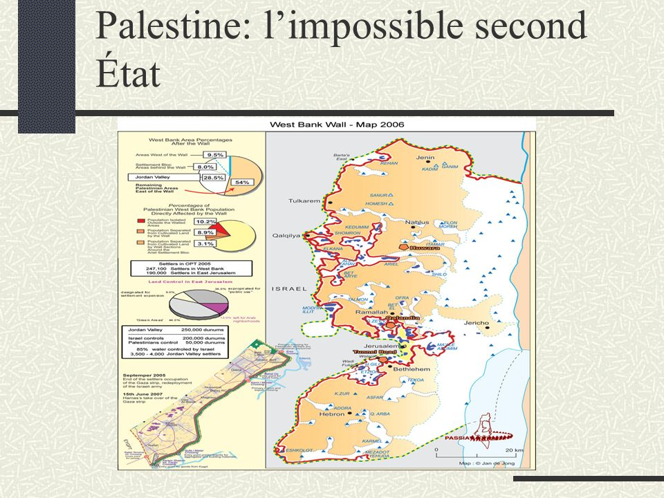 Palestine: limpossible second État