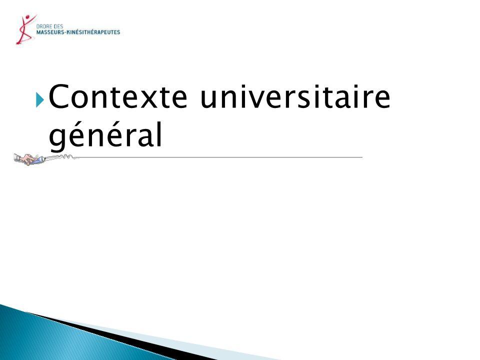 Contexte universitaire général