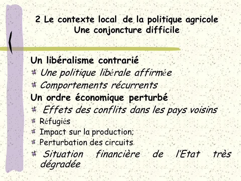 Les travaux en cours en Guinée sur la politique agricole nationale et son articulation avec les échelons régionaux et internationaux Assistance technique DR Guinée Atelier REDEV Ouagadougou Novembre 2004