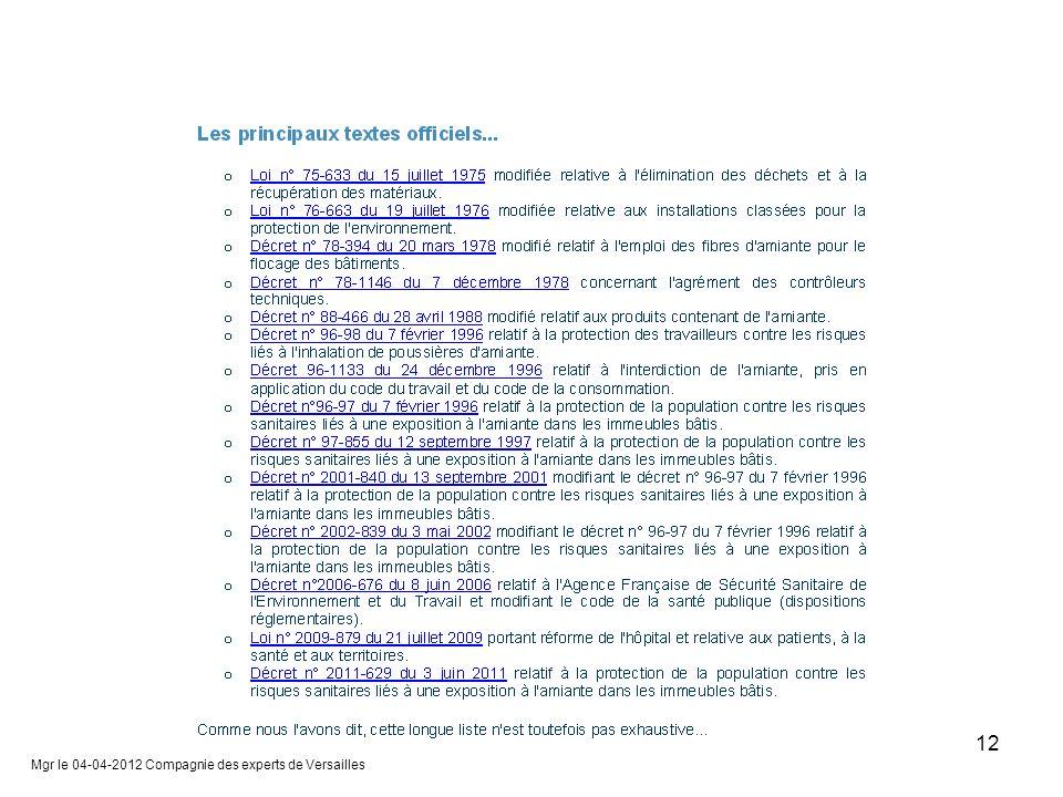 Mgr le 04-04-2012 Compagnie des experts de Versailles 12