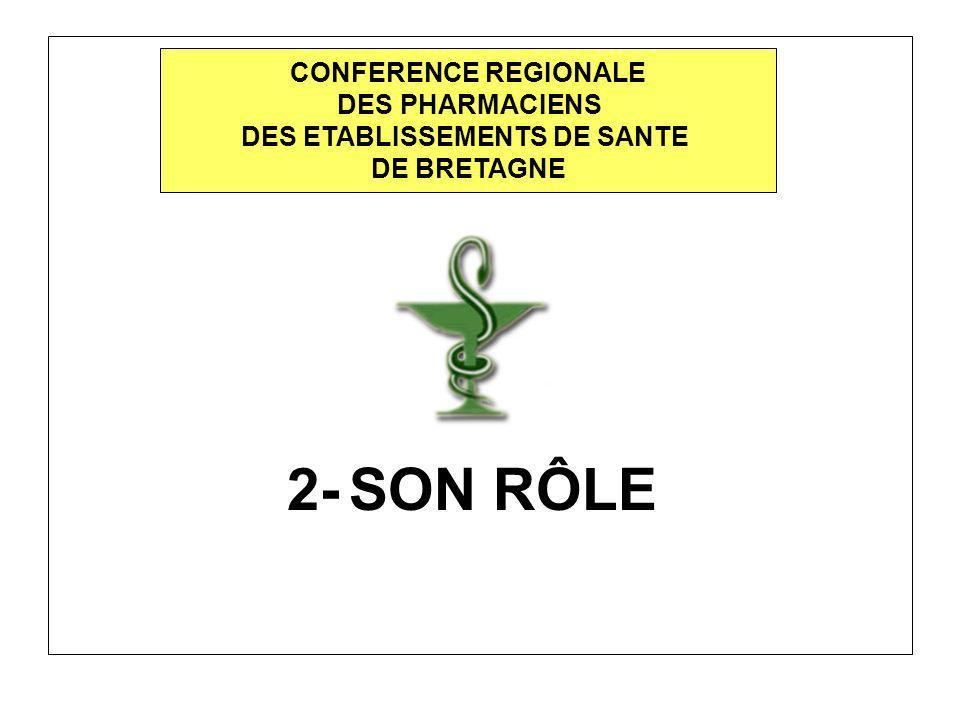 5- ELECTIONS : BUREAU DE LA CONFERENCE REGIONALE DES PHARMACIENS CONFERENCE REGIONALE DES PHARMACIENS DES ETABLISSEMENTS DE SANTE DE BRETAGNE