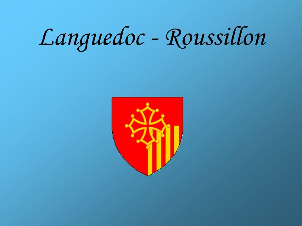 Languedoc-Roussillon Préfectures: Montpellier Population totale: 2 548 000 hab.