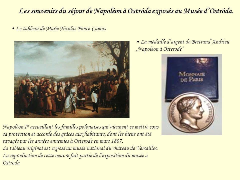Les souvenirs du séjour de Napoléon à Ostróda exposés au Musée dOstróda.