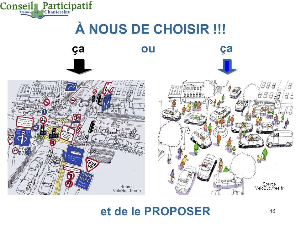 46 çaou ça Source VeloBuc.free.fr et de le PROPOSER Source VeloBuc.free.fr À NOUS DE CHOISIR !!!